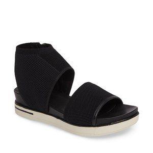 Eileen Fisher Knit Sport Sandal in black size 9.5
